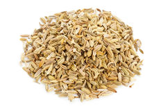 Heap of fennel seeds Stock Photography