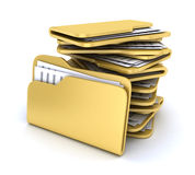 Heap file Royalty Free Stock Image