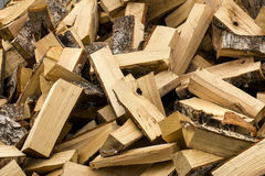 Heap of firewood Royalty Free Stock Images