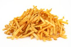 Heap of French fries Stock Photography