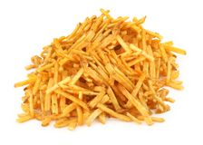 Heap of french fries Royalty Free Stock Images