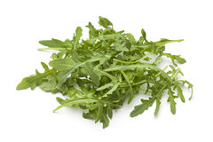 Heap of fresh Arugula leaves Stock Image