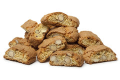 Heap of fresh baked cantuccini Stock Photo