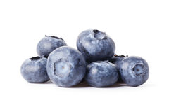 Heap of fresh blueberries Stock Photography