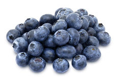Heap of fresh blueberries Stock Images