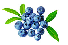 Heap  fresh blueberrys Stock Photography