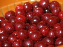Heap of Fresh Cherry Fruits Stock Photography