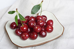 Heap of Fresh Cherry Stock Images