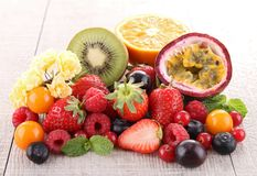 Heap of fresh fruit Royalty Free Stock Photo