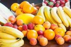Heap of fresh fruits Royalty Free Stock Photos