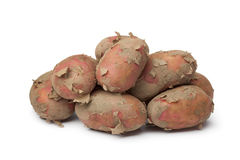 Heap of fresh red Raya potatoes Royalty Free Stock Images