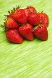 Heap of fresh strawberries Stock Photography