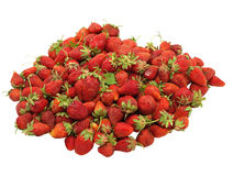 Heap of fresh strawberries. Stock Photos