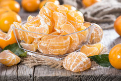 Heap of fresh Tangerines Royalty Free Stock Photography