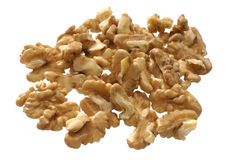 Heap of a fresh walnuts Royalty Free Stock Image