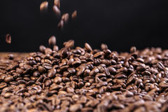 Fresh Roasted Coffe Beans Royalty Free Stock Images