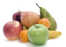 Heap of fruits Royalty Free Stock Images