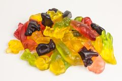 Gummy candy animals Stock Photo