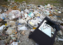 Heap of garbage Royalty Free Stock Photos