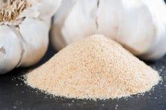 Heap of Garlic Spice. (detailed close-up shot Stock Photos