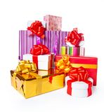 Heap of gift boxes Stock Photography
