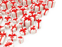 Heap of Gift Boxes Royalty Free Stock Photo