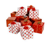 Heap of gifts Royalty Free Stock Photography