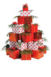 Heap of gifts Stock Photography