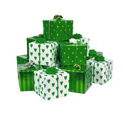 Heap of gifts Royalty Free Stock Photos