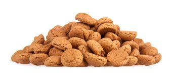 Heap of ginger nuts, Dutch sweets Royalty Free Stock Photography