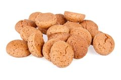 Heap of ginger nuts, Dutch sweets Stock Image