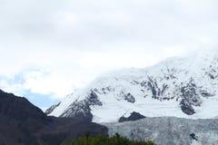 Heap glacier in tibet royalty free stock photos