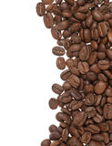Heap of grains of coffee Royalty Free Stock Image