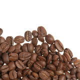Heap of grains of coffee Stock Image