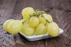 Heap of Grapes isolated on white Stock Image