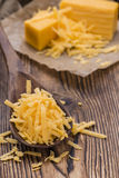 Heap of grated Cheddar Royalty Free Stock Images