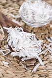 Heap of Grated Coconut Stock Photos