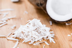 Heap of Grated Coconut royalty free stock images