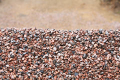 Heap of gravel Stock Photography