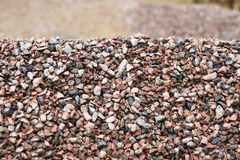 Heap of gravel Stock Photos