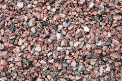 Heap of gravel Stock Images