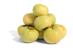 Heap of green apples Stock Photography