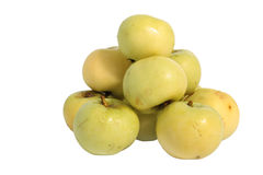 Heap of green apples Royalty Free Stock Images