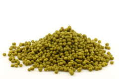 A heap of green peas Royalty Free Stock Photography
