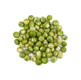 Heap of green peas Stock Images