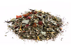 Heap of green tea Royalty Free Stock Photo