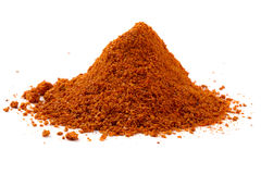 Heap ground paprika Stock Images