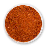 Heap ground paprika Stock Photos