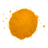 Heap ground turmeric Royalty Free Stock Images