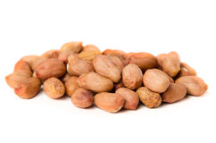 Heap of groundnuts Stock Photos